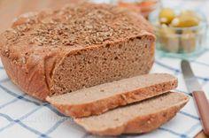 Vollkorn No Knead Bread mit Gewürzkruste
