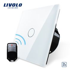 Free Shipping, Livolo EU Standard Remote Switch, White Crystal Glass Panel, 110~250V Wall Light Remote Touch Switch VL C701R 11-in Wall Switches from Electrical Equipment & Supplies on Aliexpress.com | Alibaba Group