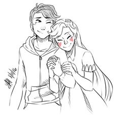 Star and Marco holding hands because they are the most adorable babies every created!