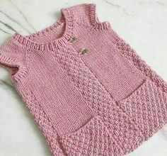 65 Different Models Of Baby Knit Cardigan Pattern, Baby Cardigan, Knitted Poncho, Baby Knitting Patterns, Free Knitting, Girls Knitted Dress, Baby Dress Design, Knitwear Fashion, Baby Sweaters