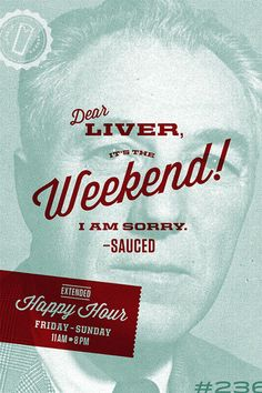 """Poster design for Virginia's """"Sauced."""""""