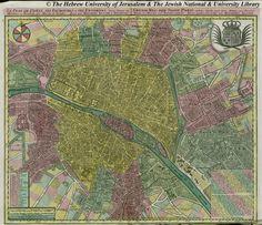 L'histoire de Paris par ses plans - La boite verte - 1760