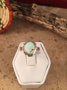 A personal favorite from my Etsy shop https://www.etsy.com/listing/287209043/scott-skeets-dry-creek-turquoise