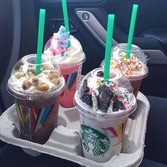 Bebidas Do Starbucks, Secret Starbucks Drinks, Starbucks Menu, Starbucks Coffee, Coffee Coffee, Morning Coffee, Coffee Shop, Yummy Drinks, Delicious Desserts