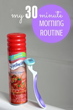 Here's how I get ready in the morning in 30 minutes or less!  #rockyourlegs @SchickHydroSilk #ad