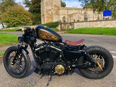 Harley Davidson News – Harley Davidson Bike Pics Sportster Iron, Harley Davidson Sportster 883, Custom Sportster, Custom Bobber, Custom Harleys, Harley Davidson Motorcycles, Custom Motorcycles, Custom Bikes, Custom Choppers
