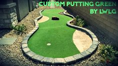 Why leave your home for some putting practice? Get it right in your open back yard. Best thing is, these putting greens are completely customizable. Want a sand trap? ☑️ Want obstacles? ☑️ What about gentle dips and rises? ☑️ We can do it all.