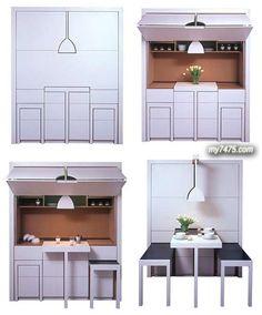 Creative Compact Kitchen