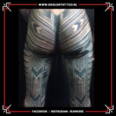 Pe'a tattoo Samoan Designed and Tattooed by: Jim Orie Dragon Tattoo Samoan Designs, Becoming A Tattoo Artist, Tattoo Portfolio, Unique Tattoos, Tattoo Artists, Dragon, Dragons