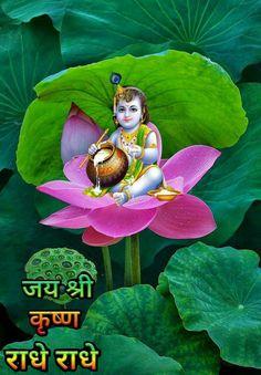 Latest Good Morning, Jai Shree Krishna, Good Morning Flowers, Krishna Love, Good Morning Messages, Christmas Ornaments, Holiday Decor, Gallery, Prints