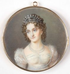 Maria Theresa of Naples and Sicily (6 June 1772 – 13 April 1807) was the eldest daughter of Ferdinand IV & III of Naples and Sicily and his wife, Marie Caroline of Austria (1752–1814). She was the last Holy Roman Empress and the first Empress of Austria. Maternal niece of Marie Antoinette, Queen Consort of France; sister of Maria Amalia, Queen Consort of France; and mother of Marie Louise, Empress of the French, Napoleon's second wife.