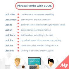 """English    is    FUNtastic: Phrasal Verbs with """"LOOK"""""""