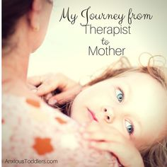 My journey from therapist to mother of children with sensory processing disorder.