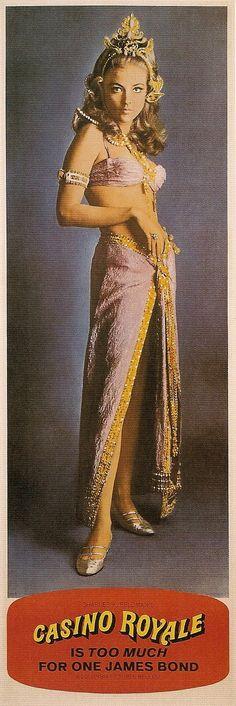 Mata Bond (Joanna Pettet) in Casino Royale 1967 (supposed daughter of Mata Hari and James Bond)