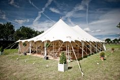 The Oyster Pearl tent...
