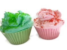 cupcake bath soaps set of 2 by normasbath on Etsy, $8.00