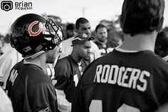 Brian McGuckin Photography, Johnny Knox, Chicago Bears, Aaron Rodgers, Green Bay Packers, NFL Pro Bowl