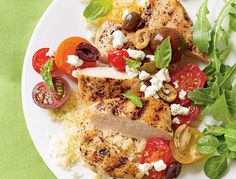 #Chicken #Breasts with Tomatoes and Olives http://justgetideas.com/chicken-breasts-tomatoes-olives/