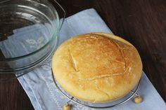 Pan milagro en cazuela