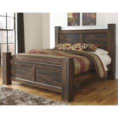 wollersheim 4-post bed handmade in cherry, oak, pine & more