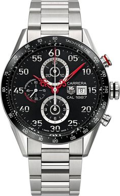 """TAG Heuer Carrera Calibre 1887 Time Machine Nendo Japan Limited Edition Watch - by David Bredan - today's small """"!"""" moment - on aBlogtoWatch.com """"Have you ever wondered what a modern, iconic chronograph watch would look like if it were fitted with hands designed ages ago? No? Yes? Well, the TAG Heuer Carrera Calibre 1887 Time Machine Nendo Japan Limited Edition offers an answer to that fascinating question..."""""""
