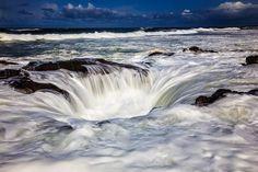 Thor's Well, Cape Perpetua ~ Oregon