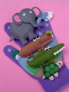 幼児教育 保育のひろば ぞうくんあめふりさんぽ エプロンシアター&手袋シアター