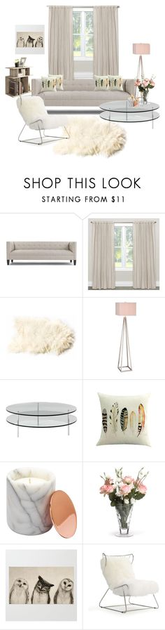 """Living room"" by anamaya ❤ liked on Polyvore featuring interior, interiors, interior design, home, home decor, interior decorating, Skyline, Catalina, SCP and WithChic"