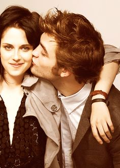 Robert Pattinson and Kristen Stewart! ♥