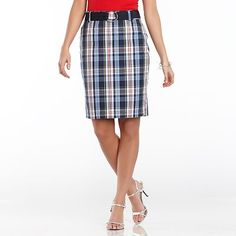 Plaid for summer!
