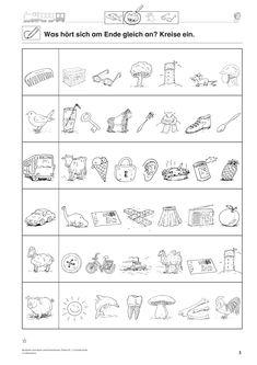Reimwörter, Deutsch, Klasse – Bildungsniveau – Rebel Without Applause Language Activities, Toddler Activities, Esl Learning, Aphasia, Creative Thinking, After School, Primary School, Preschool Crafts, Phonics