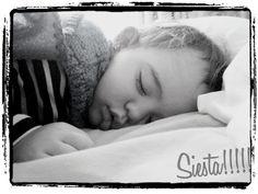 taking a nap.... tomando una siesta