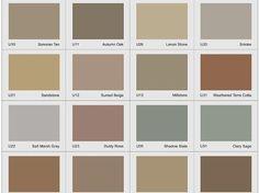 Concrete Overlay - Color Chart Site Butterfield Color Aurora, IL