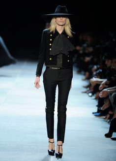 Saint Laurent Paris(Yves Saint Laurent) 2013SS  -Paris Fashion Show