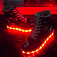 "Fashion kawaii USB charging luminous high help sneaker Cute Kawaii Harajuku Fashion Clothing & Accessories Website. Sponsorship Review & Affiliate Program opening! shoes with LED luminous, definitely something so fashionable, use this coupon code ""Fanniehuang"" to get all 10% off"