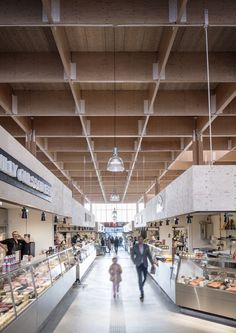 Image 4 of 30 from gallery of Östermalm's Temporary Market Hall  / Tengbom. Photograph by Felix Gerlach