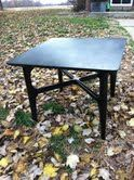 This low vintage table needed just a new look and that is what it got.