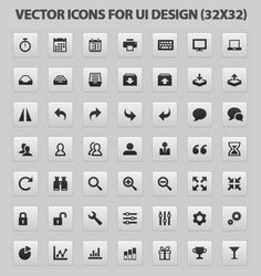 #Vector #Icons for-ui-design #Website #Web #Webdesign