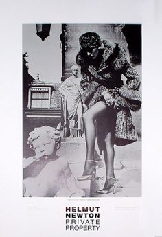 "Helmut Newton ""Private Property"" Tomb of Talma Paris 1977 | eBay $35 20"" x 30"""