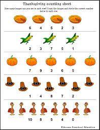 thanksgiving worksheets kindergarten - Buscar con Google