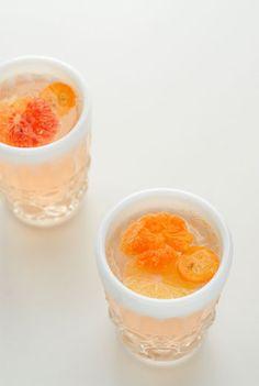 Winter Citrus White Sangria