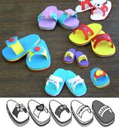 Make Foam Sandals pattern to buy