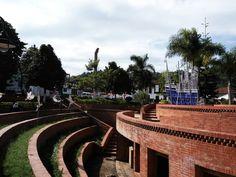 Parque principal de Guepsa Santander