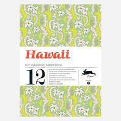 The Pepin Press: Hawaii Wrapping Paper