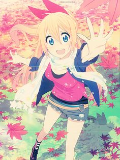 Nisekoi. Not only do I really really like this anime but, Pacifica? ANYONE?!