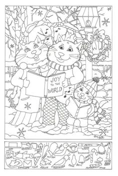 Free Printable Hidden Object Puzzles