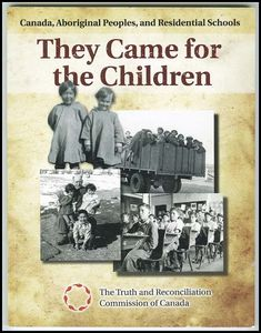 Going to that Residential School didn't kill what was in us.  And now we're trying to get back some semblance of what  we were. But there's no way we can go back to do what our  grandparents used to...exert from the book Out of the Depths...