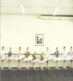 love this shot {from a j.crew catalog shoot} with the russian ballet ballerinas.