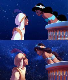 Jasmin and Aladin Film Disney, Arte Disney, Disney Magic, Disney And Dreamworks, Disney Pixar, Disney Characters, Disney Princess Art, Disney Fan Art, Disney Memes