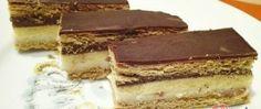 Recept Sympatické řezy Hungarian Desserts, Nutella, Tiramisu, Recipies, Muffin, Food And Drink, Rum, Cookies, Chocolate